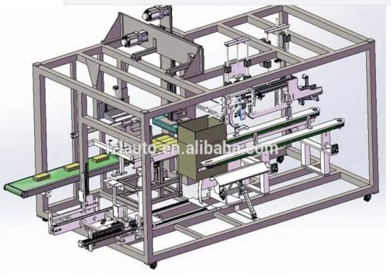 Auto Sorting Case / Carton / Box Packer with High Speed