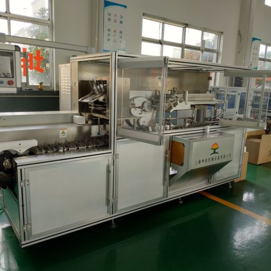 Cartons/Min Horizon Carton Box Packing Machine Automatic Folder Glue Cartoning Box Packing Machine