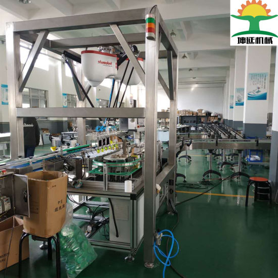 High Capacity Robot System Packing Machine for Bags/Cans/Tins