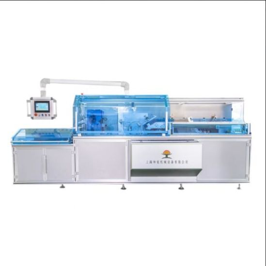 Factory Made Semi-Automatic Hot Melt Glue Box Packing Machine with Air Cleaner From China