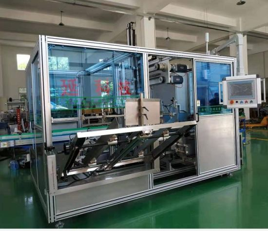 High Speed Bottle Case Packer Machine for Sale for Packing Beverage Beer Juice Sauce Paste Oil