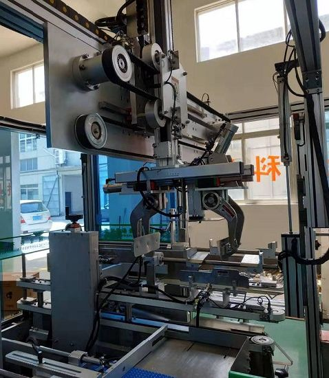 Automatic Carton Case Box Packing Machine for Cosmetic Pharmaceutical Cream